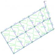 لوله گذاری-سطح پوشش لوله تیسن-ذوزنقه ای